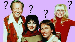 Picture of the stars of Three's Company