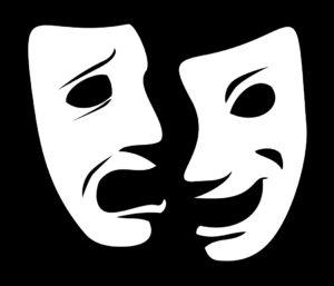 Theatre masks.