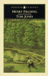 Book cover of Fielding's Tom Jones.